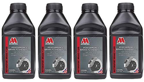 Millers Oils Performance Bremsflüssigkeit DOT 5.1, 2 Liter