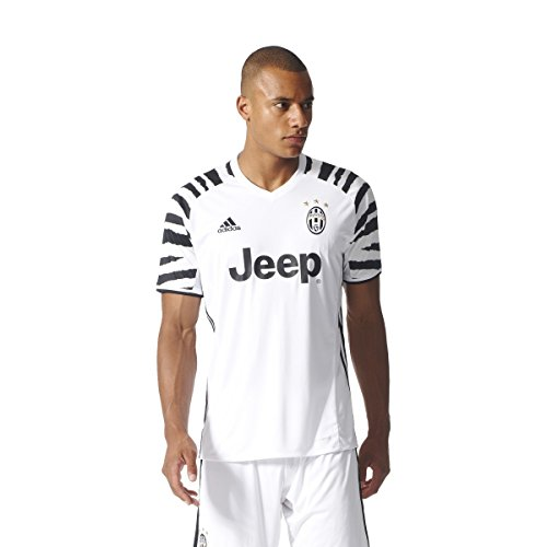adidas Juventus 3 JSY Camiseta, Hombre, Blanco/Negro (Blanco/Negro), M