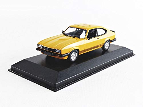 Minichamps 940082221 - Ford Capri 1982 Orange - Escala 1/43 - vehículo en Miniatura