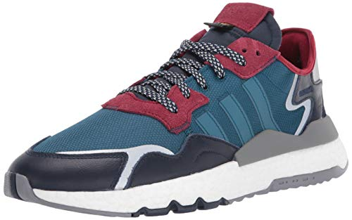adidas Originals Nite Jogger, Zapatos para Senderismo Hombre, Tech Mineral Tech Mineral Collegiate Navy, 36 EU
