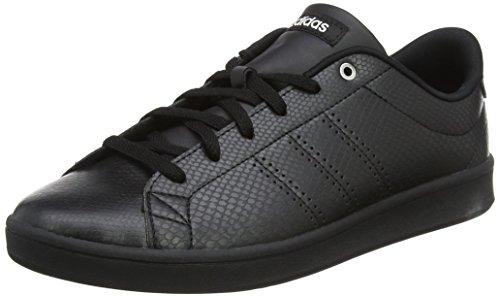 adidas Damen Advantage Clean QT Fitnessschuhe, Schwarz (Negbas/Negbas/Plamet 000), 38 2/3 EU
