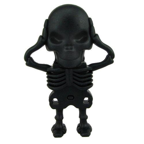 Preisvergleich Produktbild 818-Shop No7900070128 USB-Sticks 128GB Skelett Horror 3D schwarz
