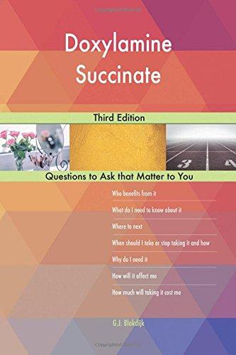 Doxylamine Succinate; Third Edition