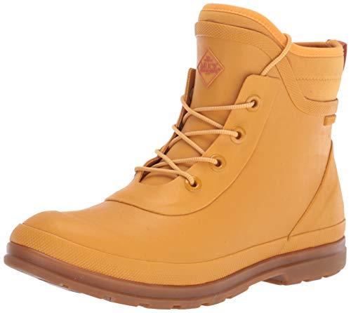 Muck Boot womens Muck Originals Lace Up Rain Boot, Sunflower, 8 US