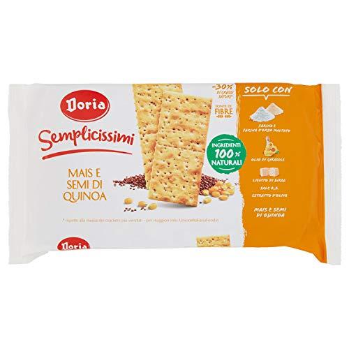 Doria Semplicissimi Crackers, Mais e Semi di Quinoa, 245g
