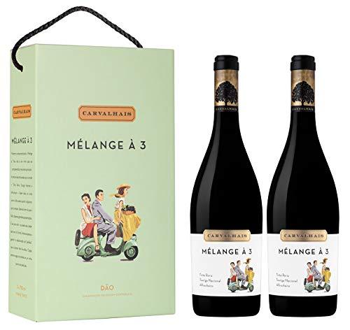 Vino Tinto Quinta Dos Carvalhais Melange a 3 (DOC Dão) - 2 botellas de 750 ml - Total: 1500 ml