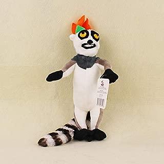EOFK 5 Classic Plush Dolls Penguin Per Lion Alex Zebra Marty King Julien Hip Otamus Gloria Kids Gifts Toys U Must Have Toddler Favourite Superhero Party Supplies Unboxing Toys