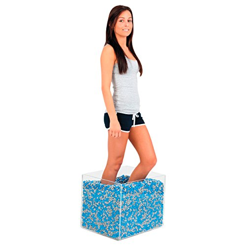 Thera Beans Therapie-Bohnen 30 kg inkl Acrylbox Bewegungstrainer Reha Neurologie