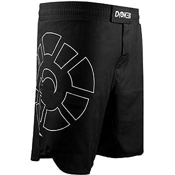 Dokebi Combat Ready BJJ Fight Shorts - Medium - Black