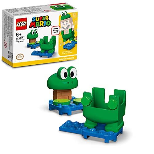 LEGO 71392 Super Mario Pack Potenciador: Mario Rana, Disfraz para Super Mario de Juguete, para Niños a Partir de 6 años