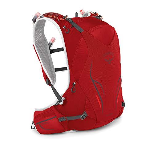 Osprey Duro 15, Hydration Pack Unisex – Adulto, Phoenix Red, M/L