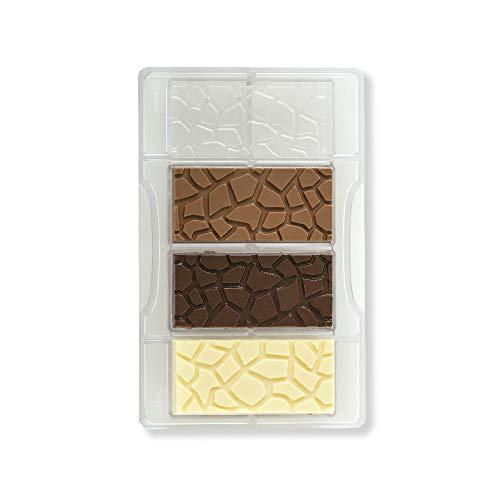 Decora 0050129 Molde para Chocolate Tableta A CAPARAZÓN DE