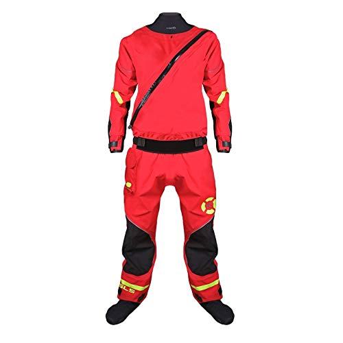 Hiko Safety Dry Suit Sicherheits Trockenanzug für Kajak SUP Rettungsanzug, Größe:L