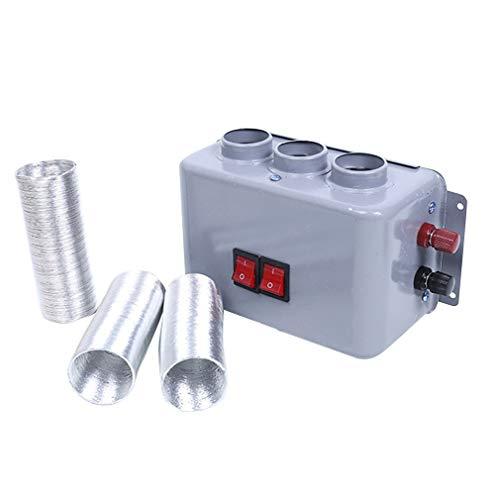 HehiFRlark - Calefactor eléctrico para coche, anticongelante de parabrisas, calentador de ahorro de energía