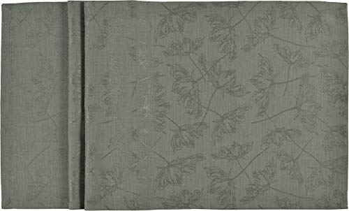 Sander Mitteldecke mit Fleckschutz Lara, 90x90 cm, Farbe 32- schilfgrün