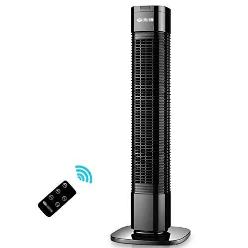 YANGLOU - Ventilador de aire acondicionado- Enfriador de aire Torre portátil Torre de ventilador Ahorro de 75 horas Tiempo de gran angular Cabeza de sacudida multifunción Control remoto sin hojas Ahor