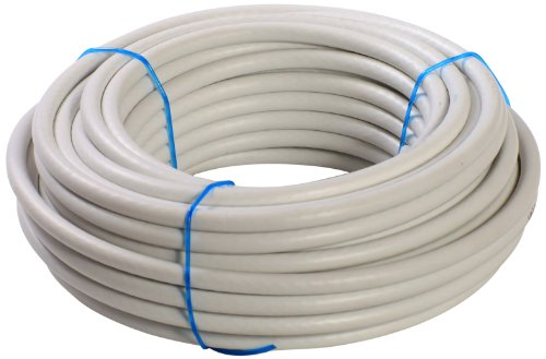 as - Schwabe 55611 Koaxleitung 1,1/5,0, Ring 15 m, weiß