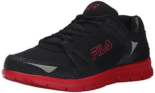 Fila Nrg Running Men's Shoes Size 11.5 Black/Red