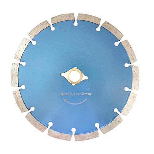 Meacase 7 inch Segmented Diamond Saw Blade for Concrete Masonry Brick Block Stone with DM-7/8'-5/8' Arbor