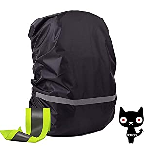 41HqaIfxttL. SS300  - OOKOO - Funda Impermeable y Reflectante para Mochila