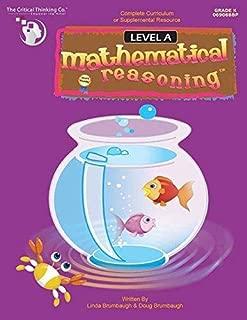 Mathematical Reasoning Level A - Bridging the Gap Between Computation and Math Reasoning (Grade K)