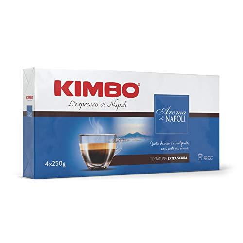 Kimbo Aroma Di Napoli Caffè Macinato - 4 Pacchi da 250g