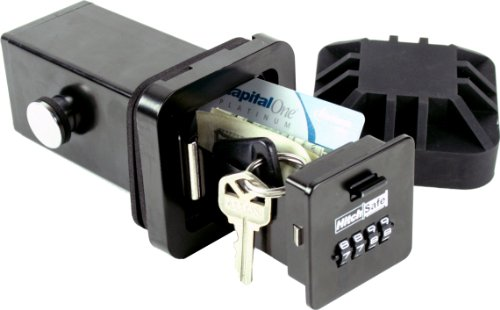 HitchSafe HS7000T Key Vault, Black