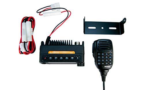 MAAS AMT-200-UV Emisora movil Mini Dual BAND144/430 MHz VHF/UHF