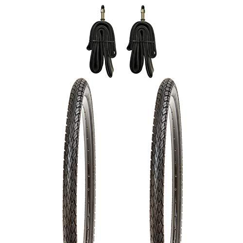 Kujo 2X 28 Zoll Fahrradreifen Set 700x40c 42-622 inkl. Schlauch DV