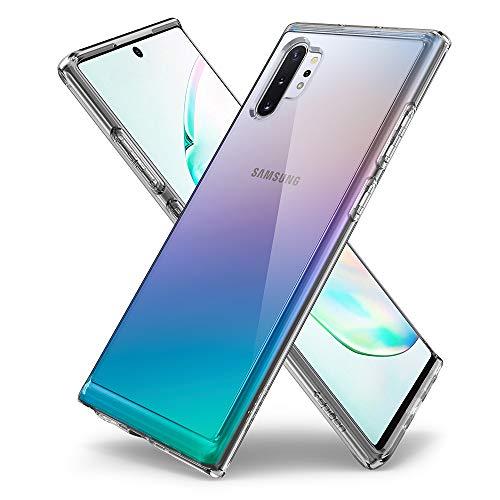 Spigen Cover Galaxy Note 10 Plus Ultra Hybrid Progettato per Samsung Galaxy Note 10 Plus Cover Custodia Note 10+ - Crystal Clear