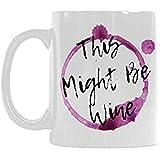 11 onzas Novedad divertida Humor gracioso Esto puede ser vino Blanco...