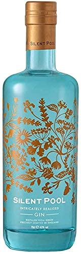 Silent Pool Gin, Premium London Dry Gin   24 Botanicals, komplexes Aroma (1 x 0.7l)