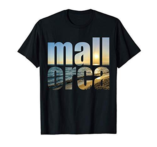 Mallorca España Viajes De Verano A Las Playas Islas Baleares Camiseta