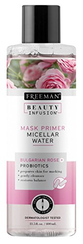 Freeman Beauty Infusion Mask Primer Micellar Water 12 Ounce (355ml) (2 Pack)