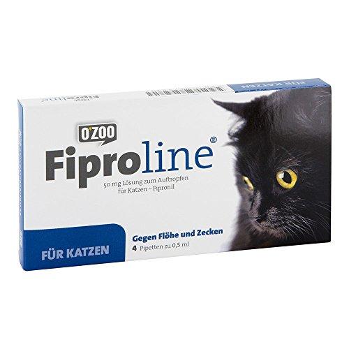 fiproline 50 mg lsg.z.auftropf.f.katzen 4 St