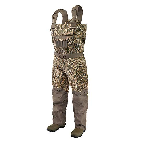 Gator Waders Womens Shield Series Insulated Breathable Hunting Waders, Mossy Oak Shadow Grass Blades, XX-Large 10