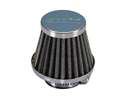 Luftfilter Polini Metal Air Filter 38mm gerade Chrom