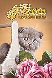 il mio gatto libro della salute: scottish fold gattino | 109 pagine | dimensioni 15cm x 23cm a5 | quaderno da compilare per le vaccinazioni, visite ... i proprietari di gatti | libretto | taccuino