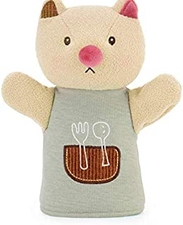 24CM Lovely Animal Hand Puppet Marioneta Puppet Dolls Plush animal Hand Doll Learning Baby Toys Marionetes Fantoche Puppets qy