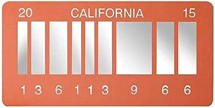 Movie Replica Prop From DeLorean 2015 Merchandise Memorabilia - Metal Vanity Prop License Plate