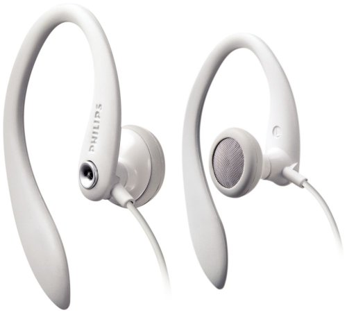 Philips SHS3200WT/37 Flexible Earhook Headphones White