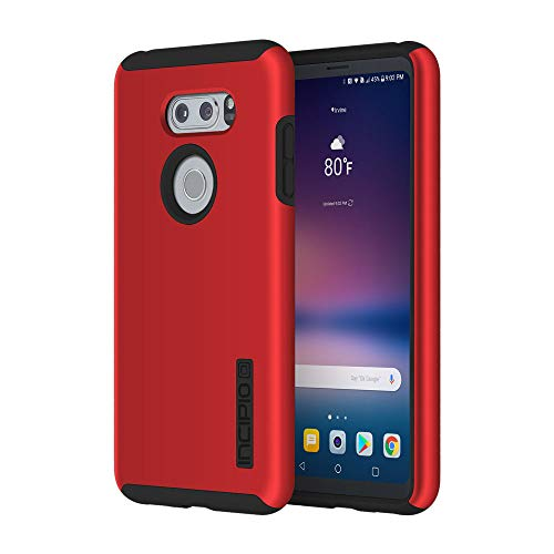 Incipio LGE-366-RBK LG V30 / V30 Plus DualPro Case - Iridescent Red/Black
