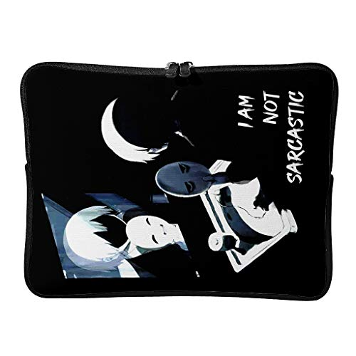 Laptop Bags I Am Not Sarcastic Fashion 5 Sizes Multifunctional - Tablet Sleeves Suitable for Indoor White 10 Zoll