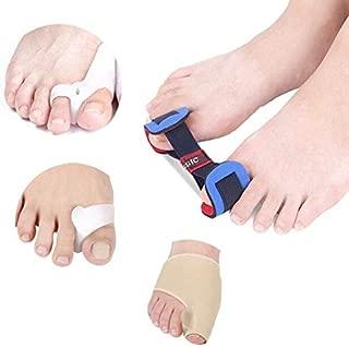 HealthyNeeds Aolikes Ankle Foot Support Tool 4pcs Big Toe Valgus Corrector Suit Orthotics Feet