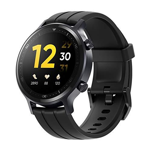 realme Smartwatch (WATCH S)Orologi sportivi IP68 Impermeabile Schermo da 1,3 pollici Tempo di standby 15 giorni, 16 modalità di esercizio con ossigeno nel sangue e rilevamento della frequenza cardiaca