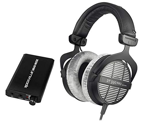 Beyerdynamic DT-990-PRO-250 Studio Reference Monitor Headphones+Amplifier Amp