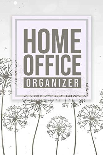 Home Office Organizer: Perfektes Home Office Zubehör I Tagesplaner Heimarbeit I Planer für das Büro Zuhause I DIN A5 I Soft Cover Matt