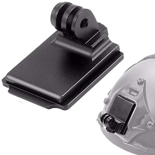 Honbobo Aluminio Casco NVG Montar Soporte de Base para GOPRO Hero 9 8 7 6 5 Yi Sjcam Camara de accion