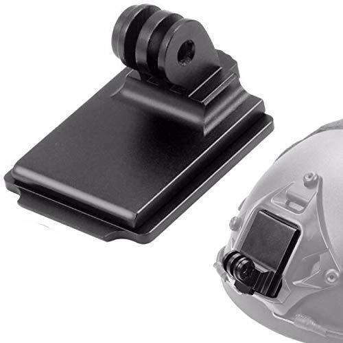 Honbobo Aluminio Casco NVG Montar Soporte de Base para GOPRO Hero 7/6/5/4 Yi Sjcam Camara de accion