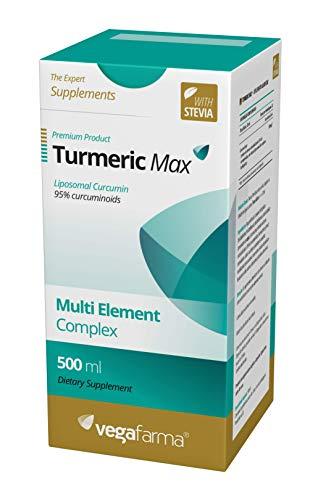 Vegafarma Turmeric Max 500 ml - 1 stuk